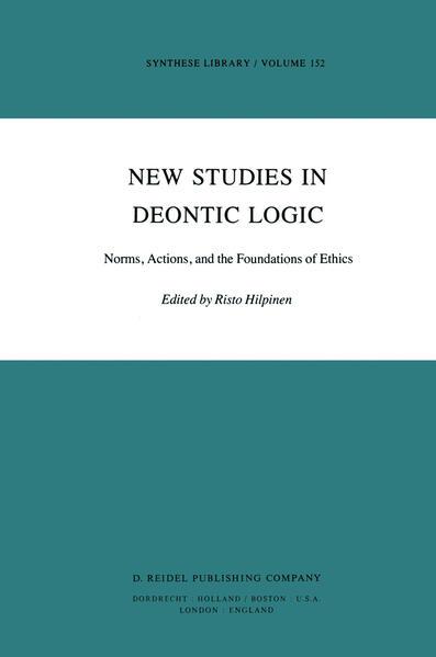 New Studies in Deontic Logic - Coverbild