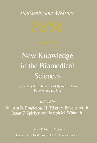 New Knowledge in the Biomedical Sciences - Coverbild