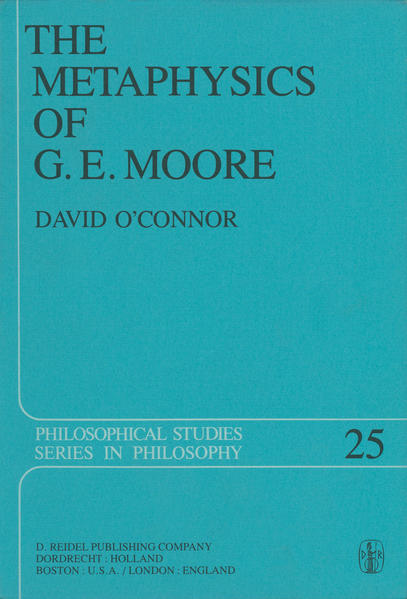The Metaphysics of G. E. Moore - Coverbild