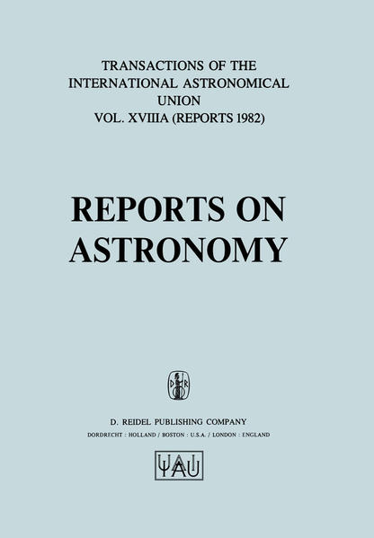 Reports on Astronomy - Coverbild