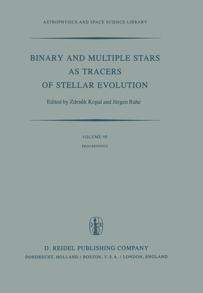 Binary and Multiple Stars as Tracers of Stellar Evolution - Coverbild