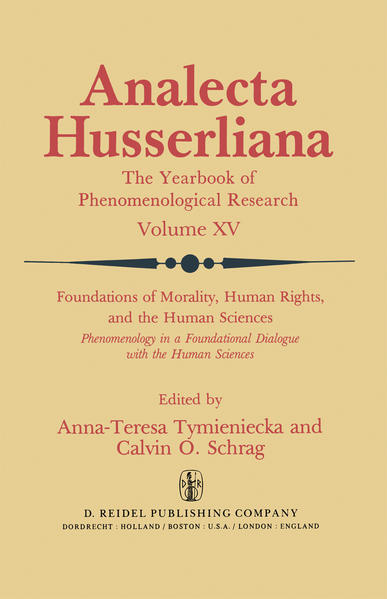 Foundations of Morality, Human Rights, and the Human Sciences - Coverbild