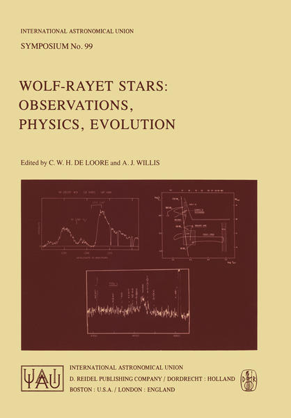 Wolf-Rayet Stars: Observations, Physics, Evolution - Coverbild