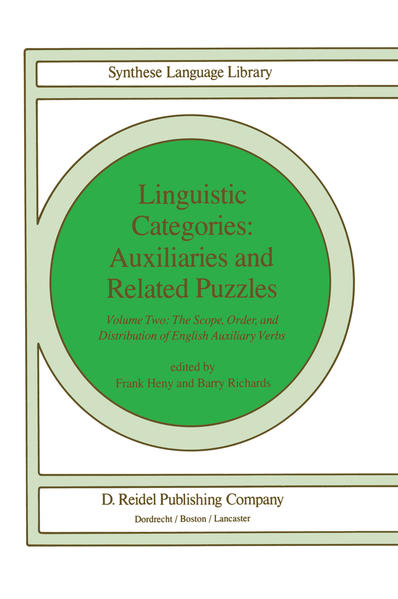 Linguistic Categories: Auxiliaries and Related Puzzles - Coverbild