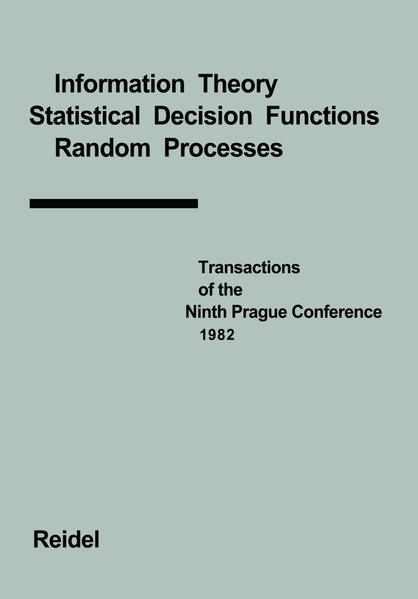 Transactions of the Ninth Prague Conference - Coverbild