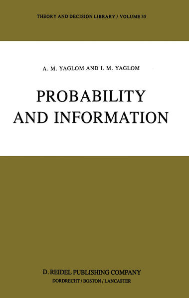 Probability and Information - Coverbild