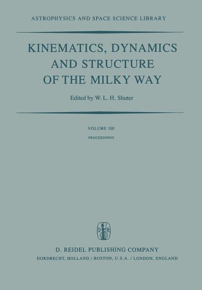 Kinematics, Dynamics and Structure of the Milky Way - Coverbild