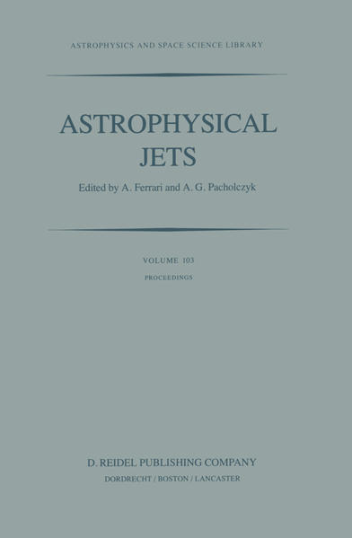 Astrophysical Jets - Coverbild