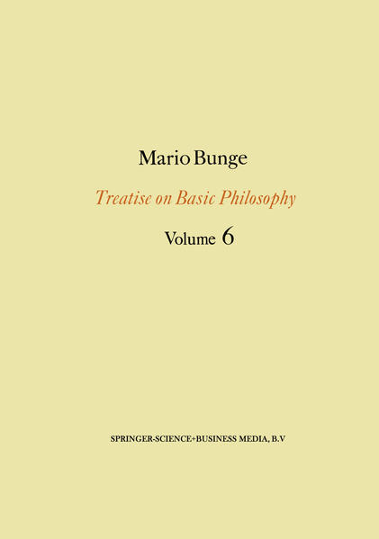 Treatise on Basic Philosophy: Volume 6 - Coverbild