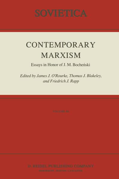 Contemporary Marxism - Coverbild