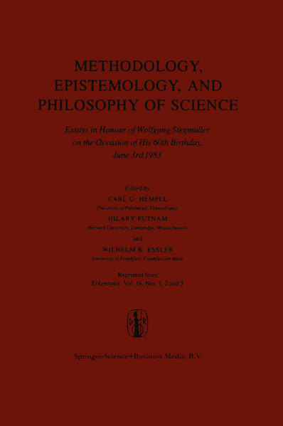 Methodology, Epistemology, and Philosophy of Science - Coverbild