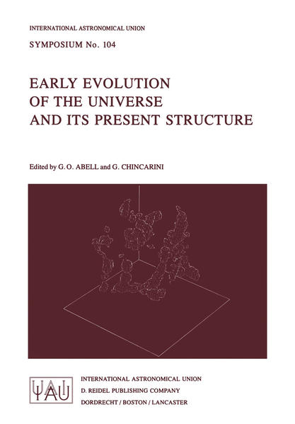 Early Evolution of the Universe and its Present Structure - Coverbild
