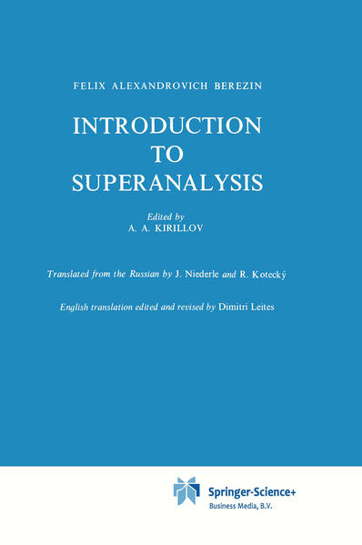 Introduction to Superanalysis - Coverbild