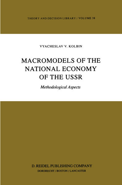 Macromodels of the National Economy of the USSR - Coverbild