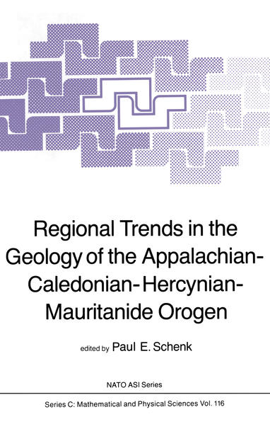 Regional Trends in the Geology of the Appalachian-Caledonian-Hercynian-Mauritanide Orogen - Coverbild