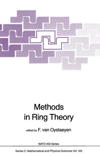 Methods in Ring Theory - Coverbild