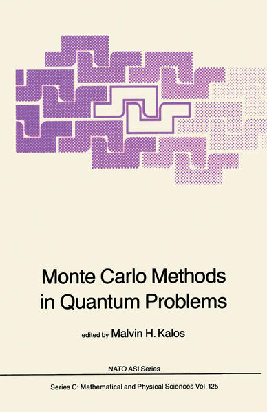 Monte Carlo Methods in Quantum Problems - Coverbild