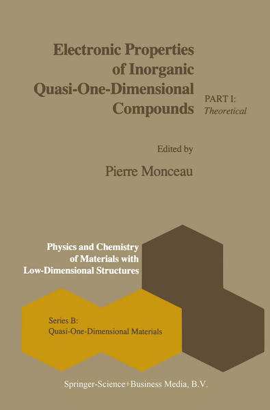 Electronic Properties of Inorganic Quasi-One-Dimensional Compounds - Coverbild