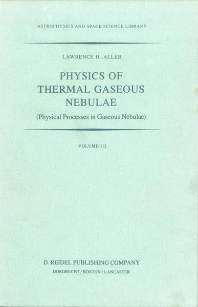Physics of Thermal Gaseous Nebulae - Coverbild