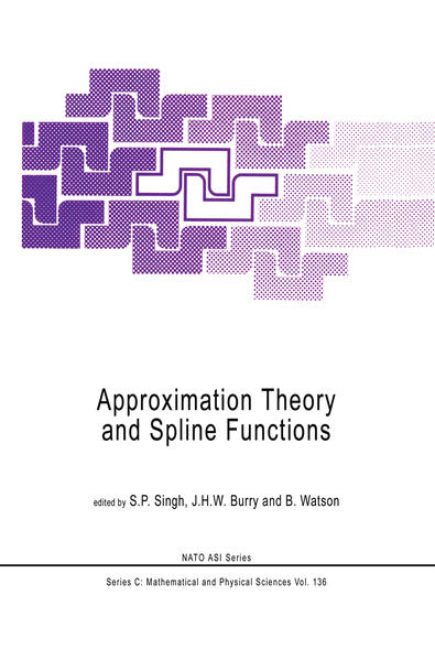 Approximation Theory and Spline Functions - Coverbild