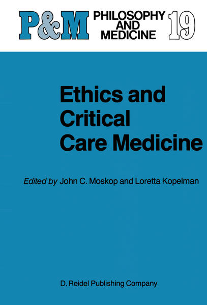 Ethics and Critical Care Medicine - Coverbild