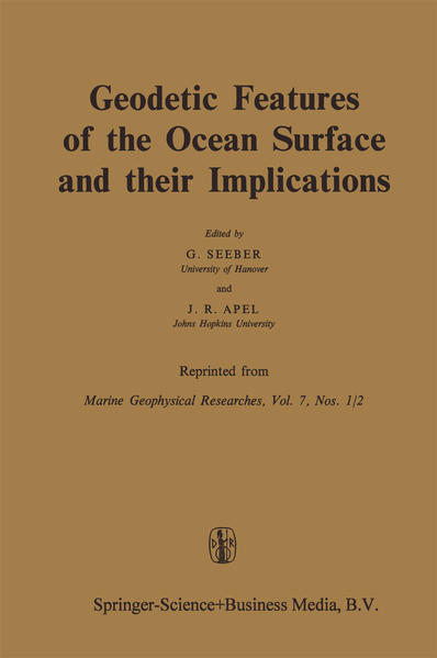 Geodetic Features of the Ocean Surface and their Implications - Coverbild