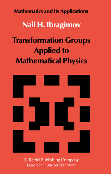 Transformation Groups Applied to Mathematical Physics - Coverbild