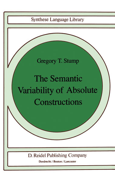 The Semantic Variability of Absolute Constructions - Coverbild