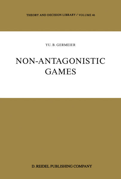 Non-Antagonistic Games - Coverbild