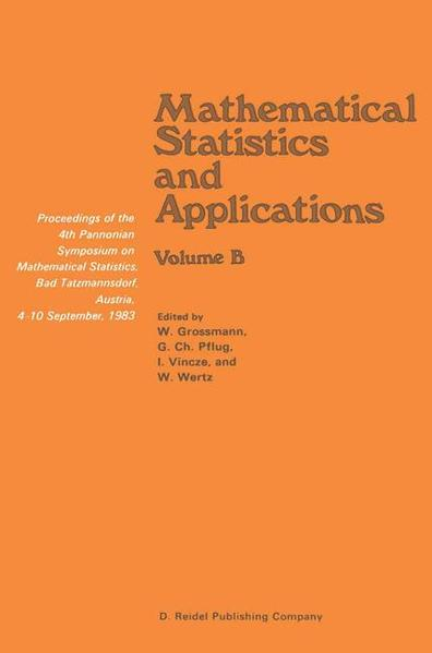 Mathematical Statistics and Applications - Coverbild