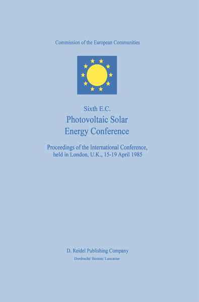 Sixth E.C. Photovoltaic Solar Energy Conference - Coverbild