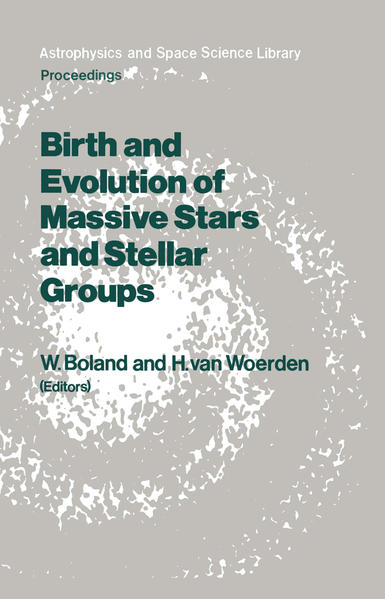 Birth and Evolution of Massive Stars and Stellar Groups - Coverbild