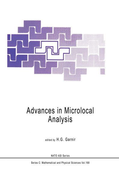 Advances in Microlocal Analysis - Coverbild