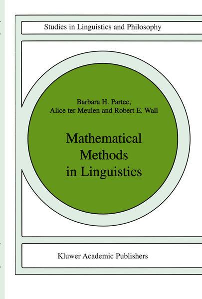 Mathematical Methods in Linguistics - Coverbild