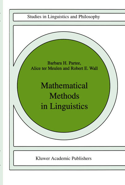 Mathematical Methods in Linguistics - Coverbild