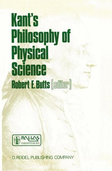 Kant's Philosophy of Physical Science - Coverbild