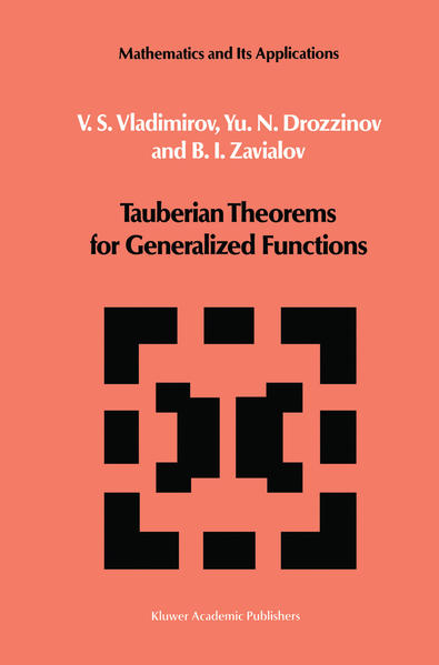 Tauberian Theorems for Generalized Functions - Coverbild
