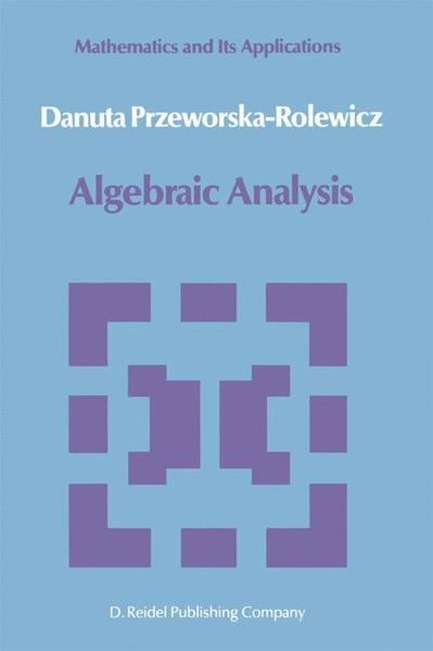 Algebraic Analysis - Coverbild