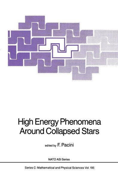 High Energy Phenomena Around Collapsed Stars - Coverbild
