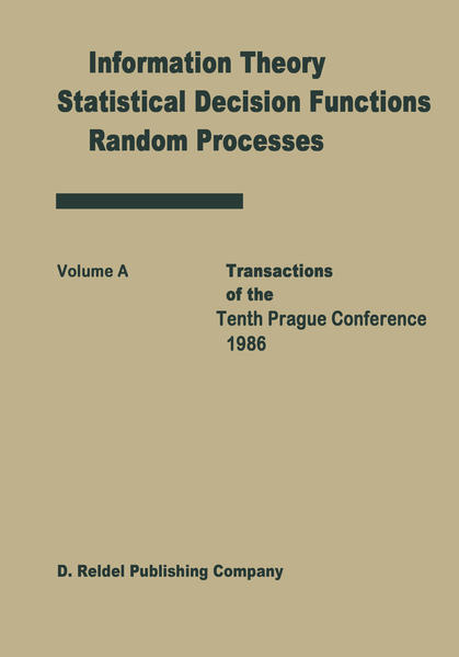 Transactions of the Tenth Prague Conferences - Coverbild