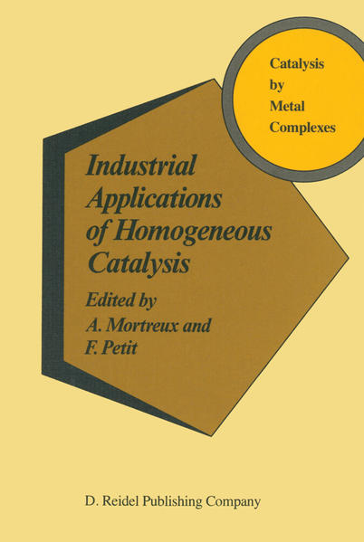 Industrial Applications of Homogeneous Catalysis - Coverbild
