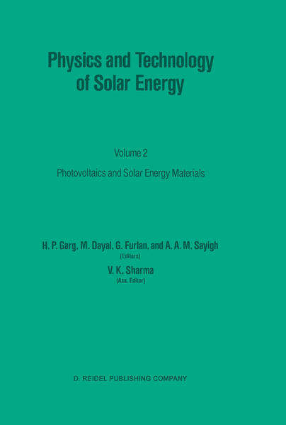 Physics and Technology of Solar Energy - Coverbild