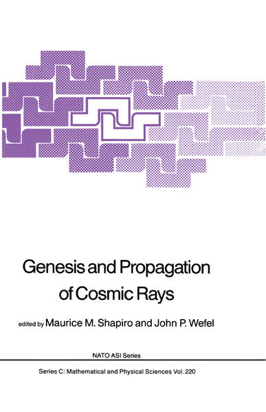 Genesis and Propagation of Cosmic Rays - Coverbild