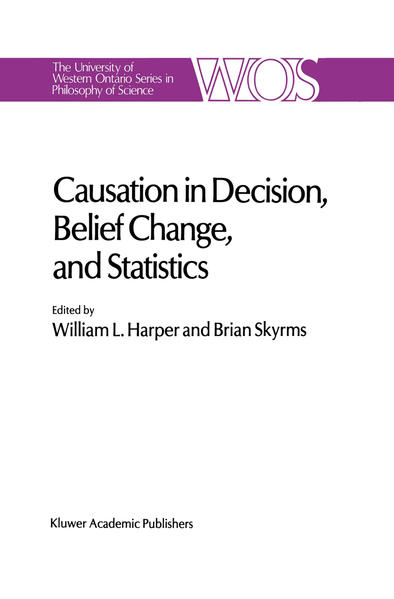 Causation in Decision, Belief Change, and Statistics - Coverbild