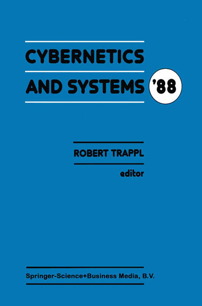 Cybernetics and Systems '88 - Coverbild