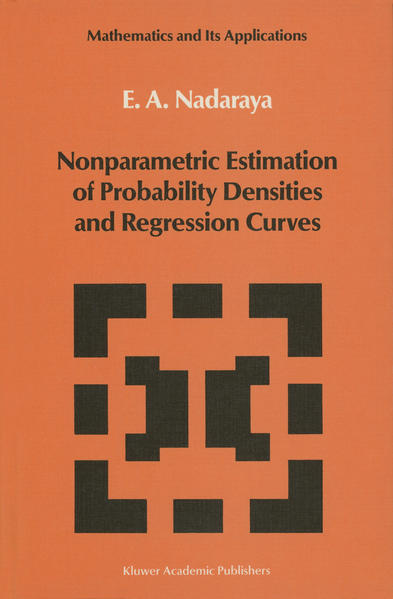 Nonparametric Estimation of Probability Densities and Regression Curves - Coverbild