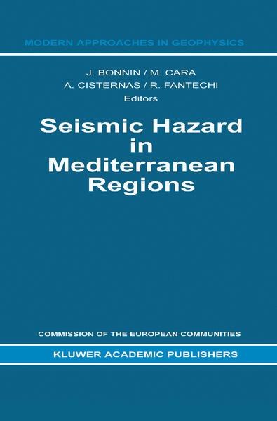 Seismic Hazard in Mediterranean Regions - Coverbild