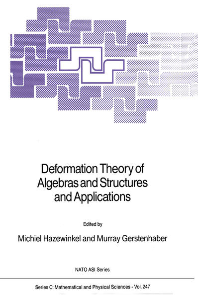 Deformation Theory of Algebras and Structures and Applications - Coverbild