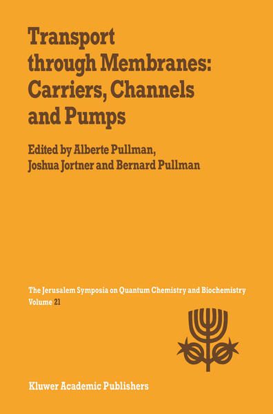 Transport Through Membranes: Carriers, Channels and Pumps - Coverbild