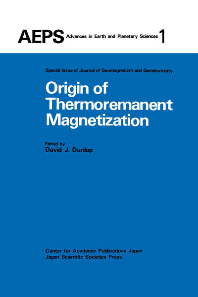 Origin of Thermoremanent Magnetization - Coverbild